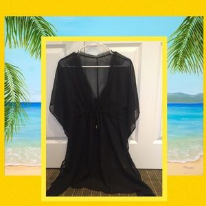 Other - ☀️Black Sheer Cover up☀️